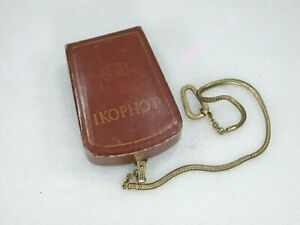Zeiss-Ikon-IKOPHOT-Light-Meter-Chain-amp-Case