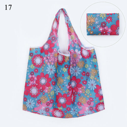 Large Foldable Recycle Shopping Reusable Grocery Food Fruit Vegetable Tote Bags