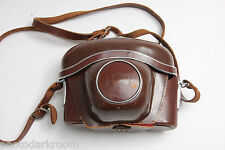 Zeiss Ikon Camera Case 20.7512 Fitted Approx. 3.5D x 5.5W x 4.5H VINTAGE J15C
