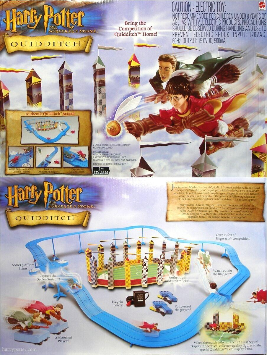 2001 TYCO Mattel 440 -X2 HARRY krukmakare Quidditch Snitch SAKER FÖR Slot bil SET