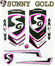 SG Sunny Gold 2017 cricket bat sticker set.SS Ton.Sachin Tendulkar Virat Kohli