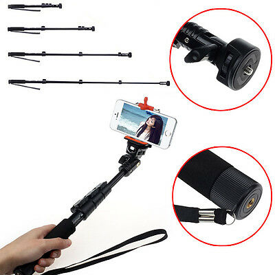 Unversal Extendable Handheld Monopod Tripod Adapter for iPhone 6S For Camera Hot