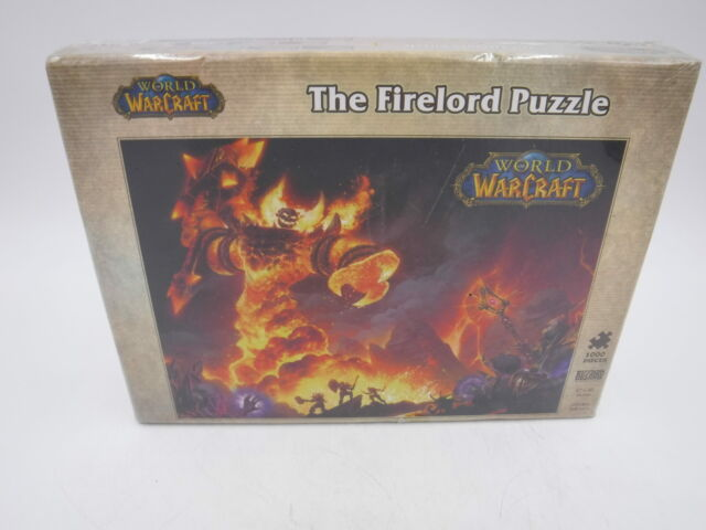 World of Warcraft - the Firelord Puzzle, Game by Blizzard Entertainment