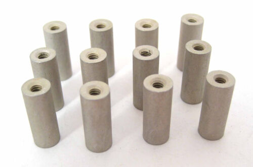 """HH Smith 8324 4//40 x 5//8"""" Long 12//Lot Aluminum Round Spacers//Standoffs"""