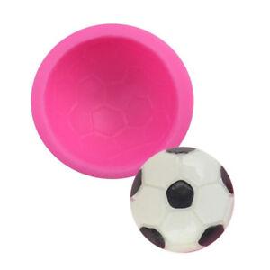 1 X Fussball Backform Kuchenform Silikon Halbkugel Deko Schokolade