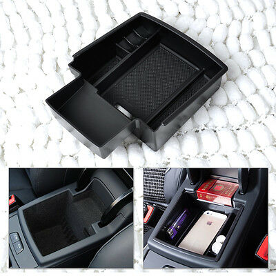 Armrest Secondary Storage Box Organizer Container Tray for 2008 -13 2014 Audi Q5