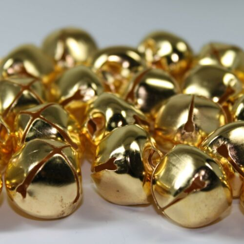 25 Jingle Bells Small to Large 6 10 13 20 25mm Christmas Crafts Morris Dancing