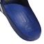 Adidas-Duramo-Mens-Slides-Flip-Flops-Pool-Beach-Slippers-Black-Navy-Blue-Stripes miniatura 26