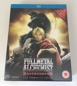 Fullmetal Alchemist Brotherhood Blu Ray Complete series ...