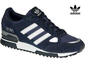 Details about ⚫⚫ 2020 Genuine Adidas Originals ZX 750 ® ( Men Sizes UK:7 - 12 ) Navy - White