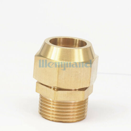 """Flare Tube OD 19mm x 3//4/"""" BSP Male Brass Connector Tube Pneumatic Fitting"""