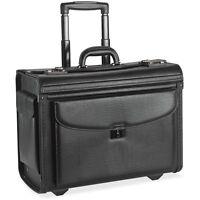 Lorell Rolling Laptop Catalog Case 18x9x14 Black 61612
