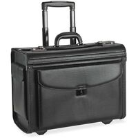 Lorell Rolling Laptop Catalog Case, 18x9x14, Black 61612 on sale