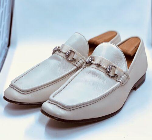 Gucci Men White Loafers