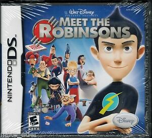 Meet-the-Robinsons-Nintendo-DS-2007-Factory-Sealed