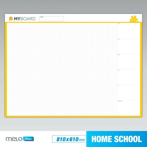 MELO MYboard for Children Dry Wipe Whiteboard for Home School Drawing