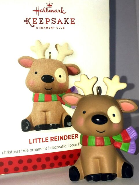 HALLMARK Keepsake 2013 LITTLE REINDEER Member Exclusive ...