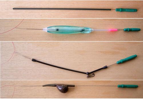 Einfädler für Feederboom Antitangle Sbirolino Karpfenbleie **TOP* Sbirulino