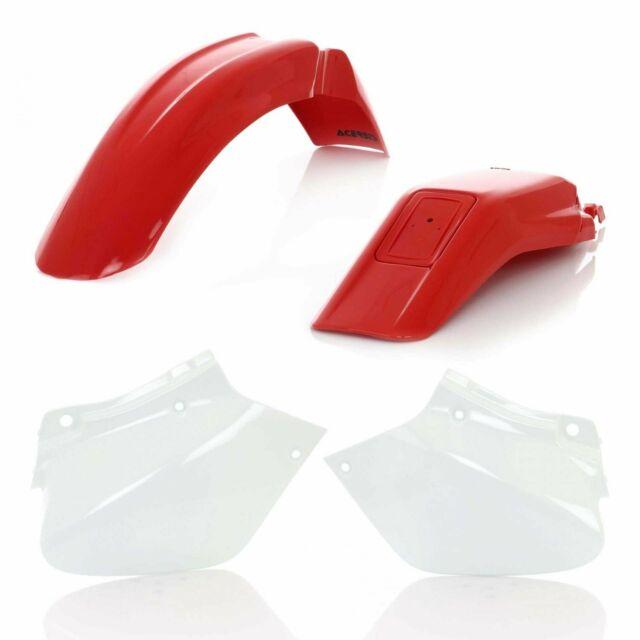 ACERBIS PLASTIC KIT HONDA XR 250 400 96-05 RED Honda XR400 2000
