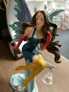 Nemesis-Now-039-Agnosia-039-Fairy-figure-with-crystals-on-moon-26cm-BNIB