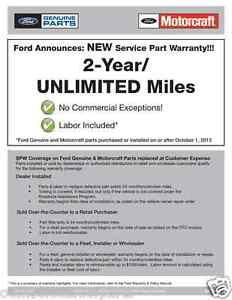 OEM NEW 1999-2005 Ford Super Duty Pair Rear Lower Shock Mounts On Axle LH//RH