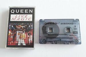 Queen Live Magic Cassette Tape Album EMI TCEMC 3519