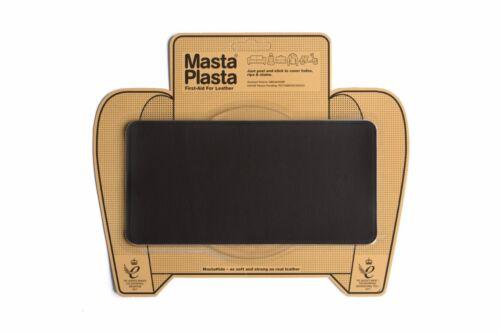 """MastaPlasta Self-Adhesive Leather Repair Patch 20x10cm 8x4/"""" Sofa Car Seat Bags"""