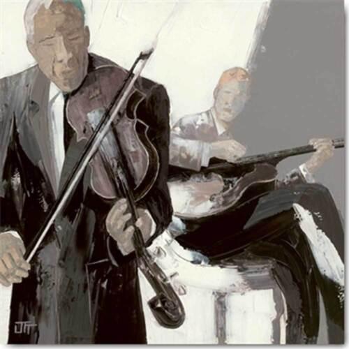 Bernard Le violon Grösse 30x30 Kunstdruck Ott