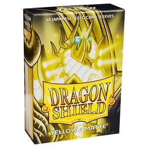 Dragon Shield Japanese Matte Mint 60ct Size Sleeves yugioh vanguard