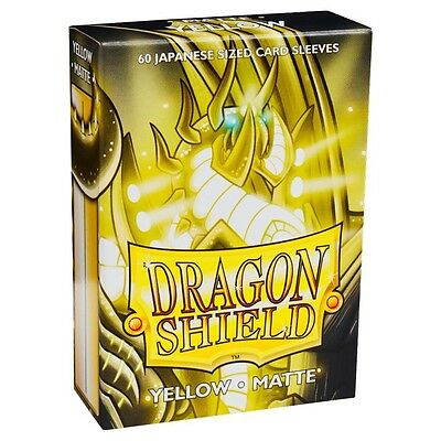 Dragon Shields Japanese Matte Silver 60ct Size Sleeves yugioh vanguard