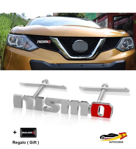 Regalo Nismo 3D Chrome  Logo Grille Badge Emblema Del Coche para Nissan