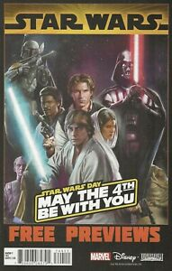 STAR WARS - STAR WARS DAY MAY THE 4TH BE WITH YOU - MARVEL PREVIEWS #1 JULY 2019