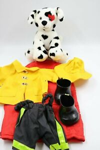 Build-a-Bear-Workshop-Dalmation-Fireman-Outfit-Plush-Dog-12-034-x-11-034