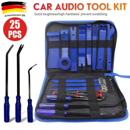 26x Car Lösewerkzeug KFZ Innenraum Verkleidungs Demontage Radio Ausbau Werkzeug