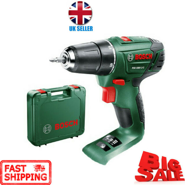 c9ac38322f33 Bosch PSB 1800 Li Cordless Combi Hammer Drill Body Only Carrying Case  Replace