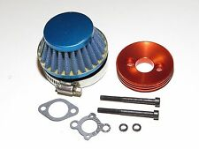 YY-MADMAX HPI KM ROVAN BAJA 1/5 5T 5B 5IVE AIR FILTER W/ ALUMINUM MOUNT KIT
