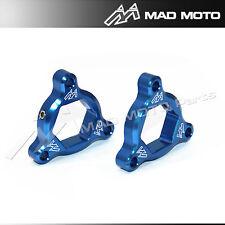 CNC 22mm Fork Pre-load Adjusters Yamaha FZ6 FAZER FZ6 09 -10/SUZUKI 600/750 Blue