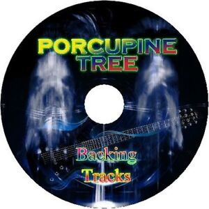PORCUPINE-TREE-GUITAR-BACKING-TRACKS-CD-BEST-GREATEST-HITS-MUSIC-PLAY-ALONG-ROCK