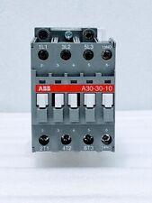 Abb Contactor A30 30 10 110v 50hz