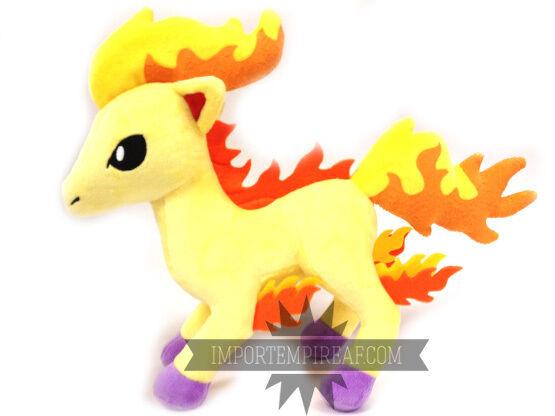 Pokemon Ponyta Plüsch 30 cm Schneemann 77 Rapidash Rapidash Rapidash Ponita Plush Doll Pony Shiny 29577f