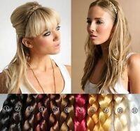 10 Colors Synthetic Hair Band Headband Plait Elastic Bohemia Braid Hairband