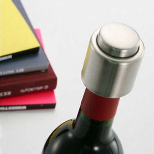 Edelstahl Vakuum versiegelt Rotwein Lagerung Flasche Stopper Stecker ChampagnAB