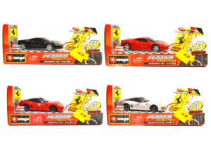 BBURAGO-18-31225-Ferrari-Race-amp-Play-a-infrarossi-RACERS-casuale-Auto-Key-SCALA-1-43