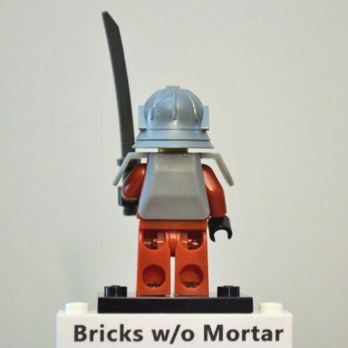 New Genuine LEGO Samurai Warrior Minifig with Sword Series 3 8803