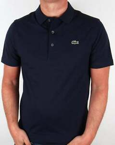 0adbf2ed8ee4 Lacoste Sport Ultra Lightweight Knit Polo Shirt in Navy Blue - 100 ...