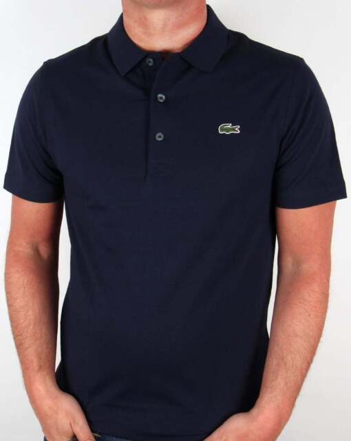 bf157c39 Lacoste Sport Ultra Lightweight Knit Polo Shirt in Navy Blue - 100% Cotton