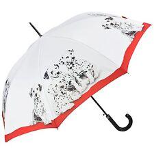 Regenschirm Geschenk Punkte Hund bunt rot Welpen Damen Herren Dalmatiner 5797A