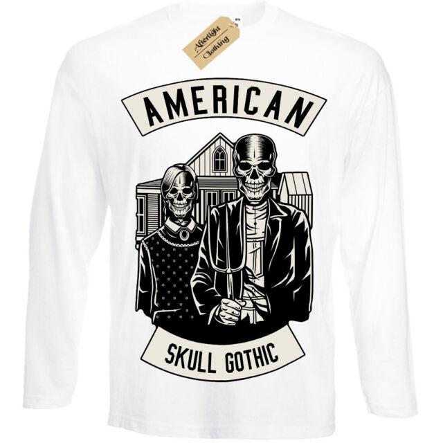 Sinister T-Shirt skull wings gothic Mens RInger