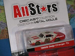 Maisto-All-Stars-1969-Dodge-Charger-R-T-Metallo-Pressofuso-Marca-Nuovo-e-Raro