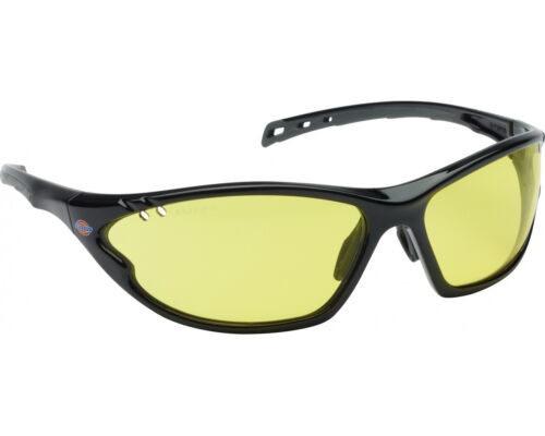 Dickies Unrestricted Vision Safety Glasses Vented Protective Spectacles SP1030